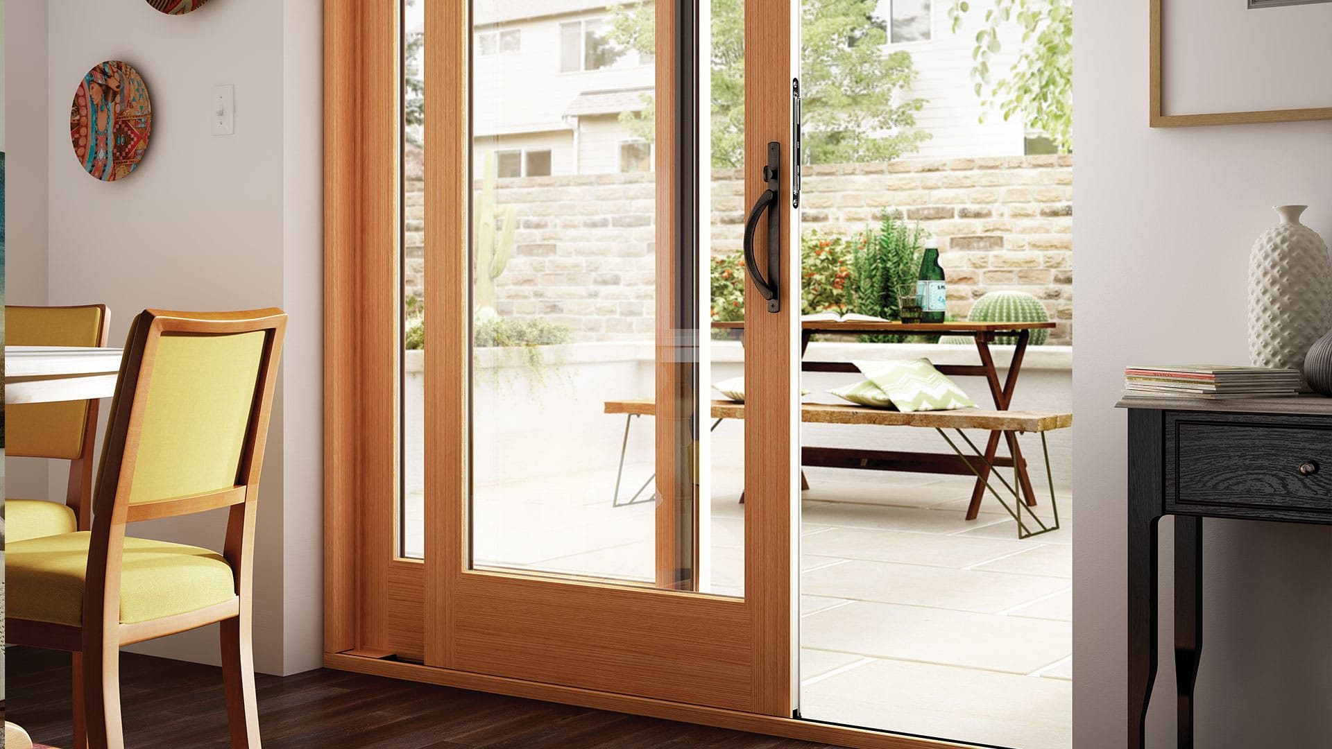 Get The Space Saving Convenience Of A Sliding Door With All The Traditional  Beauty Of A French Patio Door.French Style Sliding Patio Doors Have Wider  Stiles ...